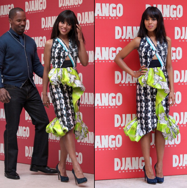 Kerry-Washington-and-Jamie-Fox-Rome-Django-Unchained-Photo-Call